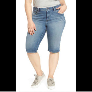 Lucky Brand Women's 24w Plus Size Ginger Shorts